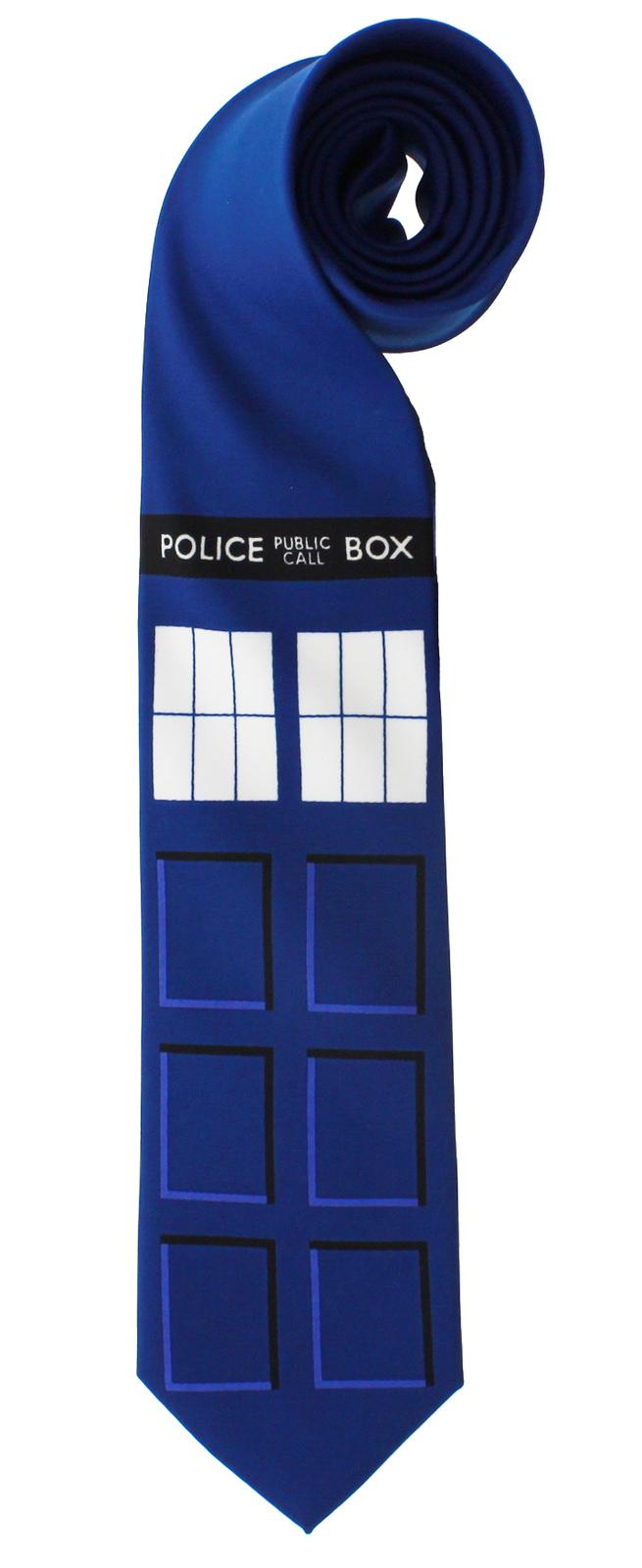 Doctor Who TARDIS Necktie image
