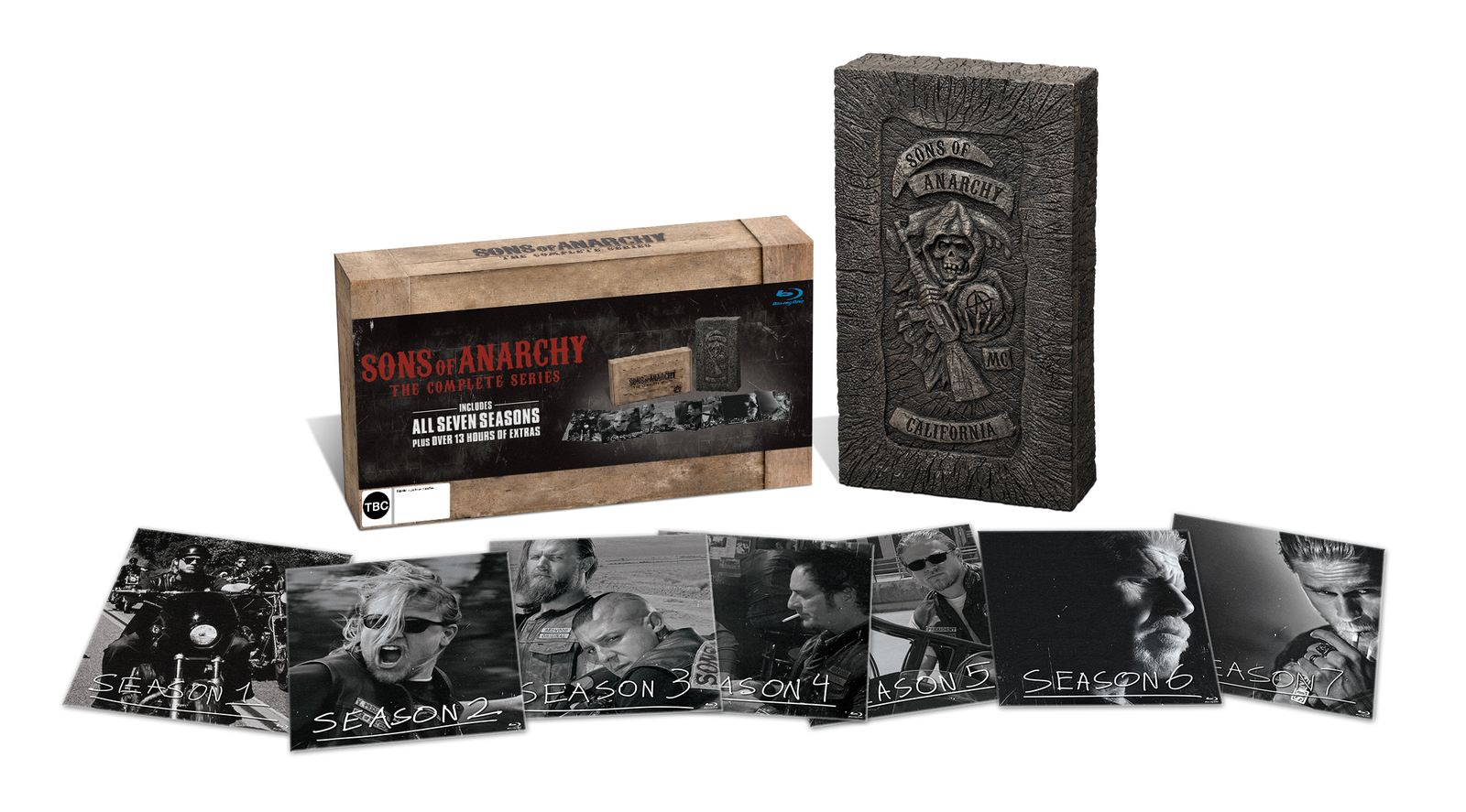 Sons Of Anarchy Blu Ray Box Deutsch