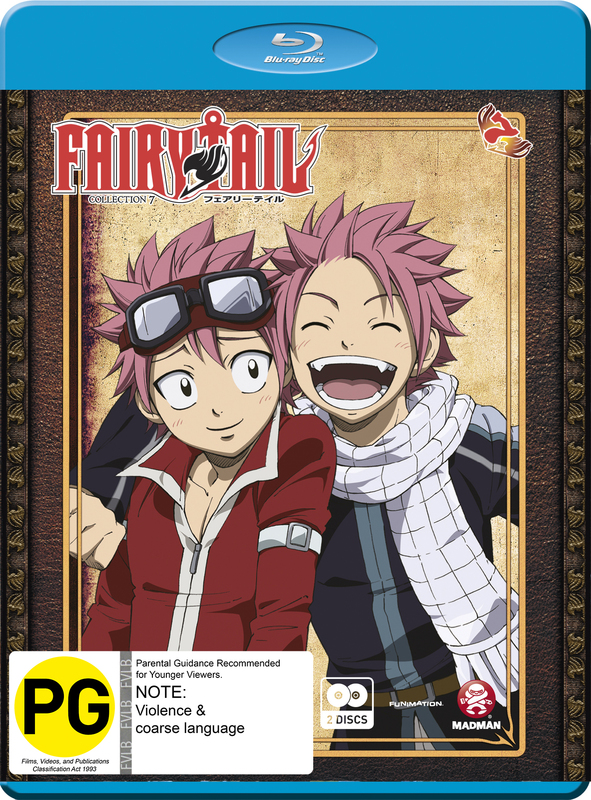 Fairy Tail - Collection 7 on Blu-ray