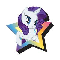 My Little Pony Rarity Funky Chunky Magnet