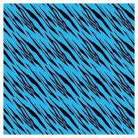SKINZ Flocked Book Cover - Blue Tiger