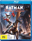 Batman and Harley Quinn on Blu-ray