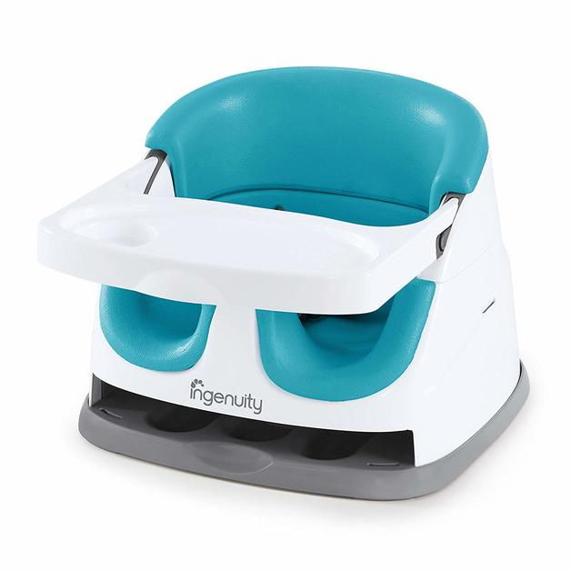 Ingenuity: Baby Base 2-in-1 Seat - Peacock Blue