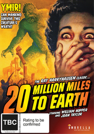 20 Million Miles to Earth on DVD