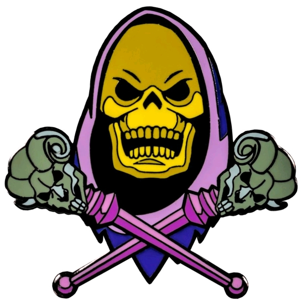 Masters of the Universe - Skeletor Enamel Pin