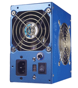 Enermax 420W ATX PSU EG425P-VE(SFMA) Dual Fan -Blue image