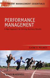 Performance Management by Elaine D. Pulakos image