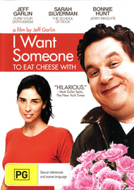 I Want Someone To Eat Cheese With on DVD