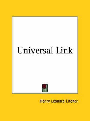 Universal Link (1934) by Henry Leonard Litcher