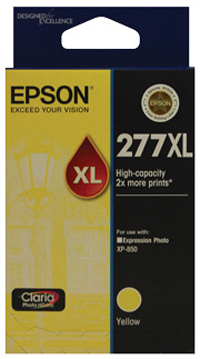 Epson Claria Ink Cartridge 277XL (Yellow)