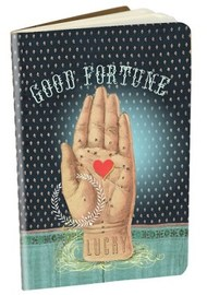 Papaya Mini Notebook - Good Fortune