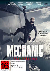 Mechanic: Resurrection on DVD