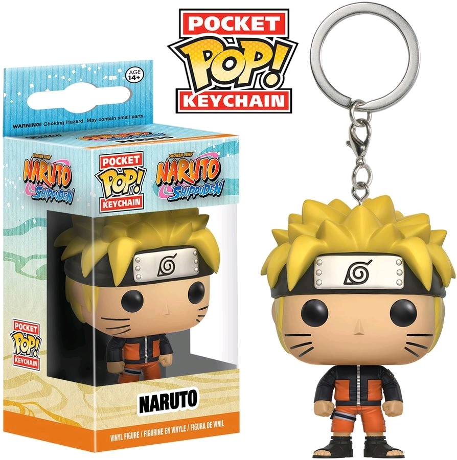 Naruto - Naruto Pop! Keychain image