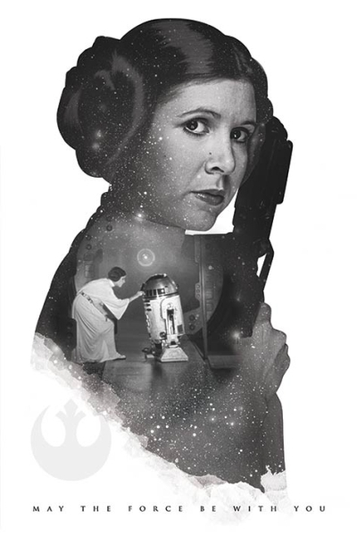 Star Wars Princess Leia Force Maxi Poster (638) image