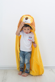 Bambury iSpy Hooded Throw (Lion)