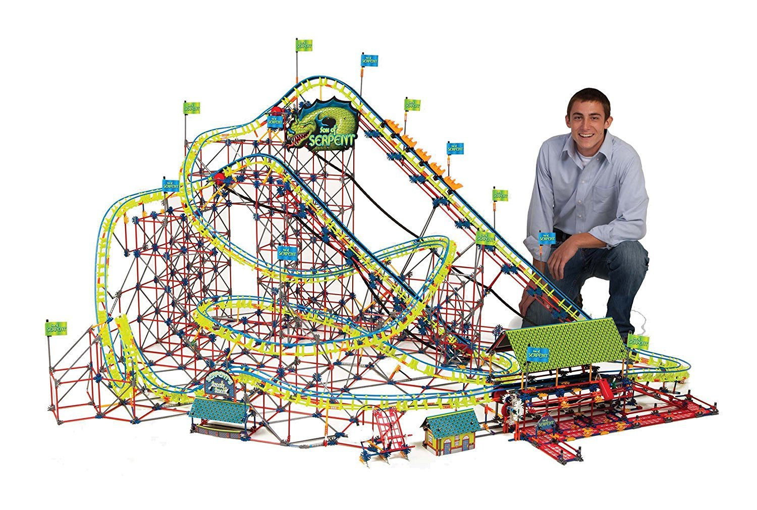 K'NEX Son of Serpent Roller Coaster image