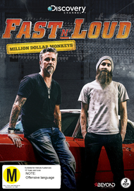 Fast N' Loud: Million Dollar Monkeys on DVD