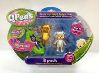 QPeas: Posable Mini Dolls - 3-Pack (Mira & Sukie)