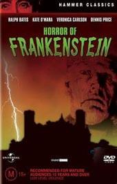 Horror Of Frankenstein on DVD