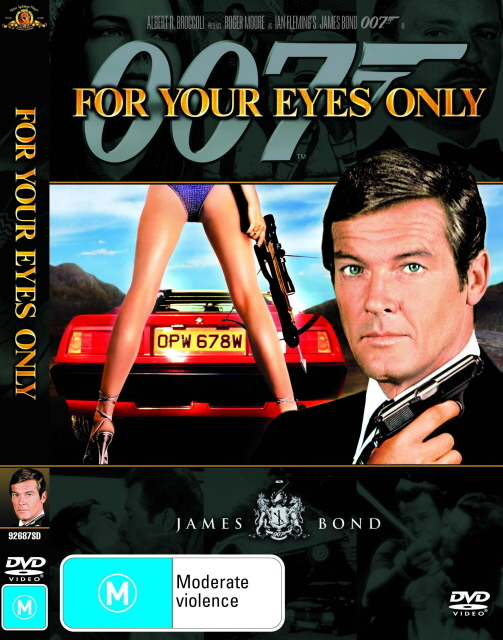 James Bond - For Your Eyes Only on DVD