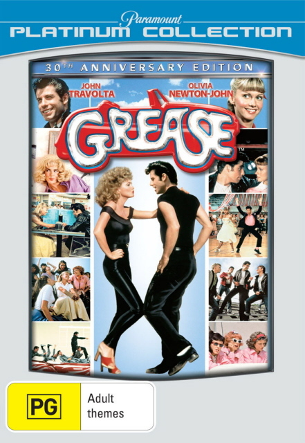 Grease - 30th Anniversary Edition (Platinum Collection) on DVD