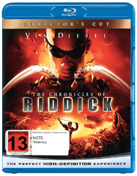 The Chronicles of Riddick on Blu-ray
