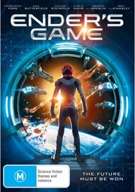 Ender's Game on DVD