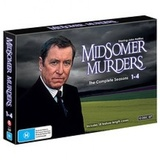 Midsomer Murders Collection: Season 1-4 on DVD