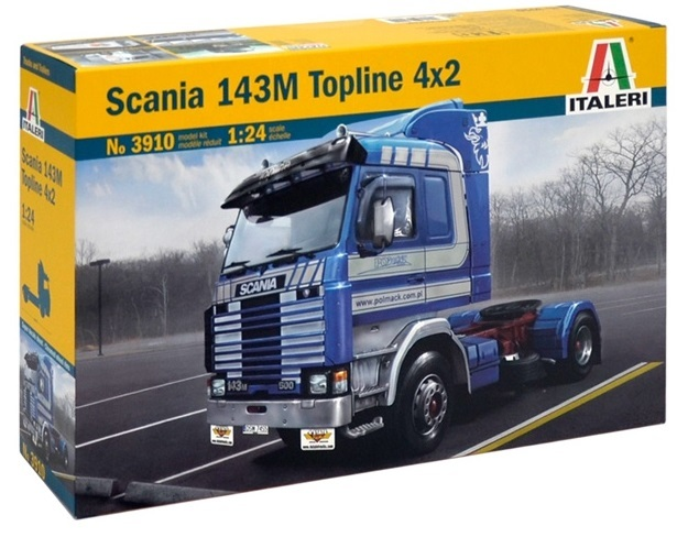Italeri: 1:24 Scania 143m Topline 4x2 - Model Kit