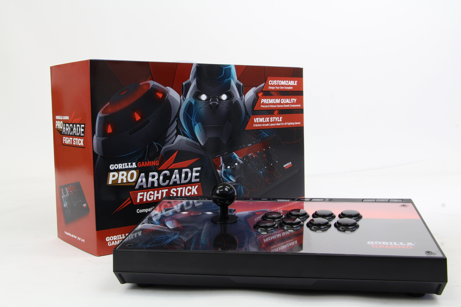 Gorilla Gaming PRO Arcade Fight Stick (PS4, PS3, PC) screenshot