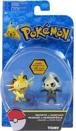 Pokémon: Action Pose Pancham vs. Meowth - Figure 2-Pack