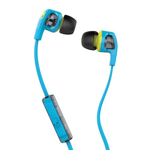 Skullcandy Smokin' Buds 2 In Ear Buds (Lime/Blue) image
