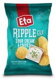 Eta Ripple Cut Sour Cream & Chives (150g)