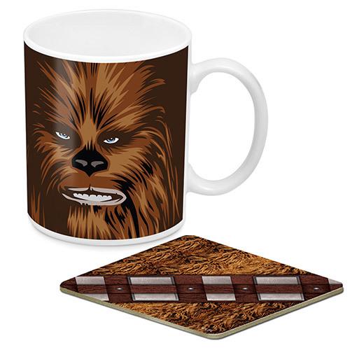 Star Wars Chewbacca Mug And Coaster Pack