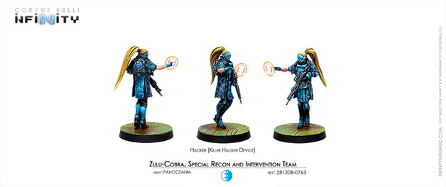 Infinity: Zulu-Cobra, Special Recon and Intervention Team (Hacker)