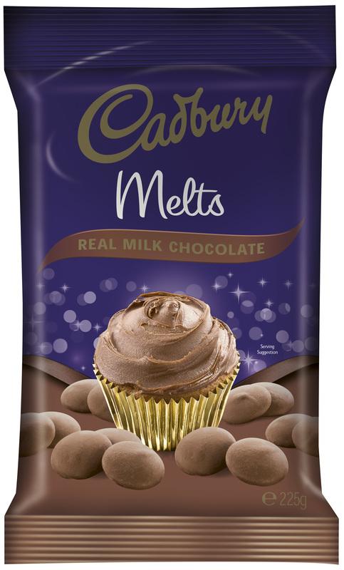Cadbury Milk Chocolate Melts (225g)