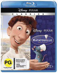 Ratatouille on Blu-ray