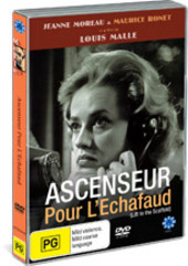 Ascenseur Pour L'Echafaud (Lift To The Scaffold) on DVD