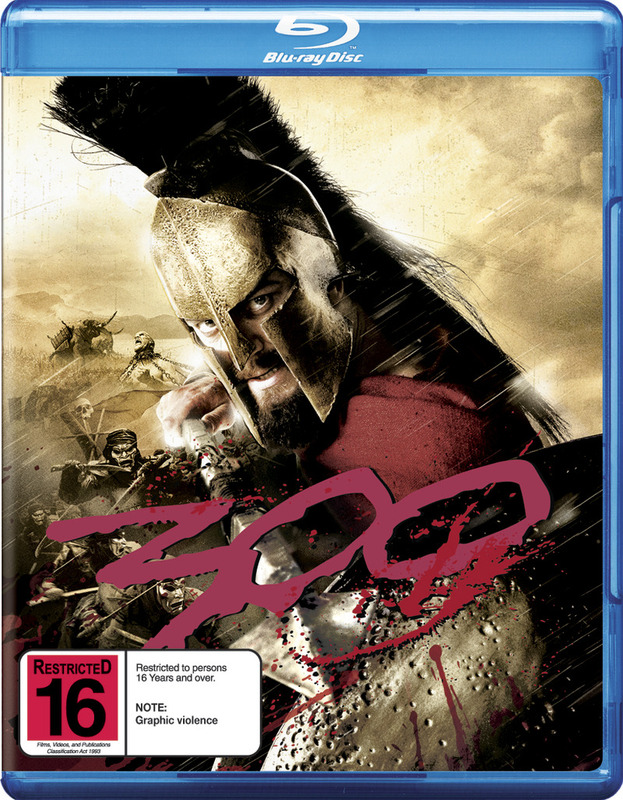 300 on Blu-ray