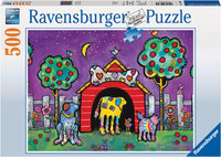 Ravensburger - Dogs At Twilight Puzzle (500pc)