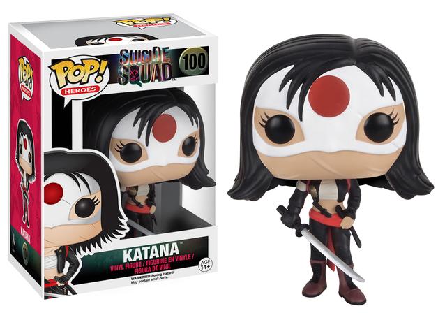Suicide Squad - Katana Pop! Vinyl Figure
