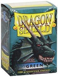 Dragon Shield Card Sleeves Green