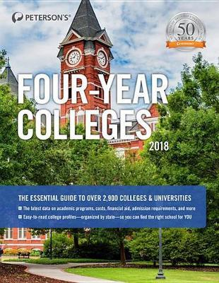 Four-Year Colleges 2018 by Peterson's image