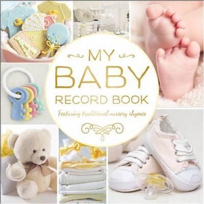 Baby Record Book rework (yellow)