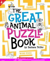 The Great Animal Puzzle Book by Barbara Telfer image