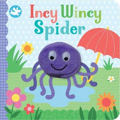 Little Me Incy Wincy Spider Finger Puppet Book by Parragon Editors image