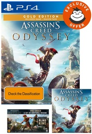 Assassin's Creed Odyssey Gold Edition for PS4