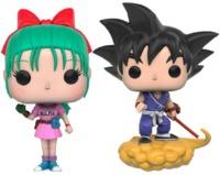Dragon Ball Z - Bulma & Goku US Exclusive Pop! Vinyl Figure 2-Pack