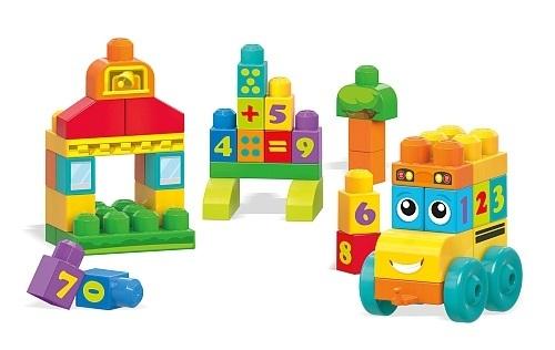 Mega Bloks: First Builders - 123 Bus