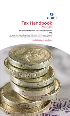 Zurich Tax Handbook: 2007-2008 by Anthony Foreman image